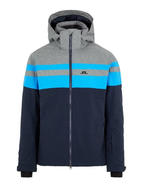 Franklin Ski Jacket - J. Lindeberg - True Blue - front view