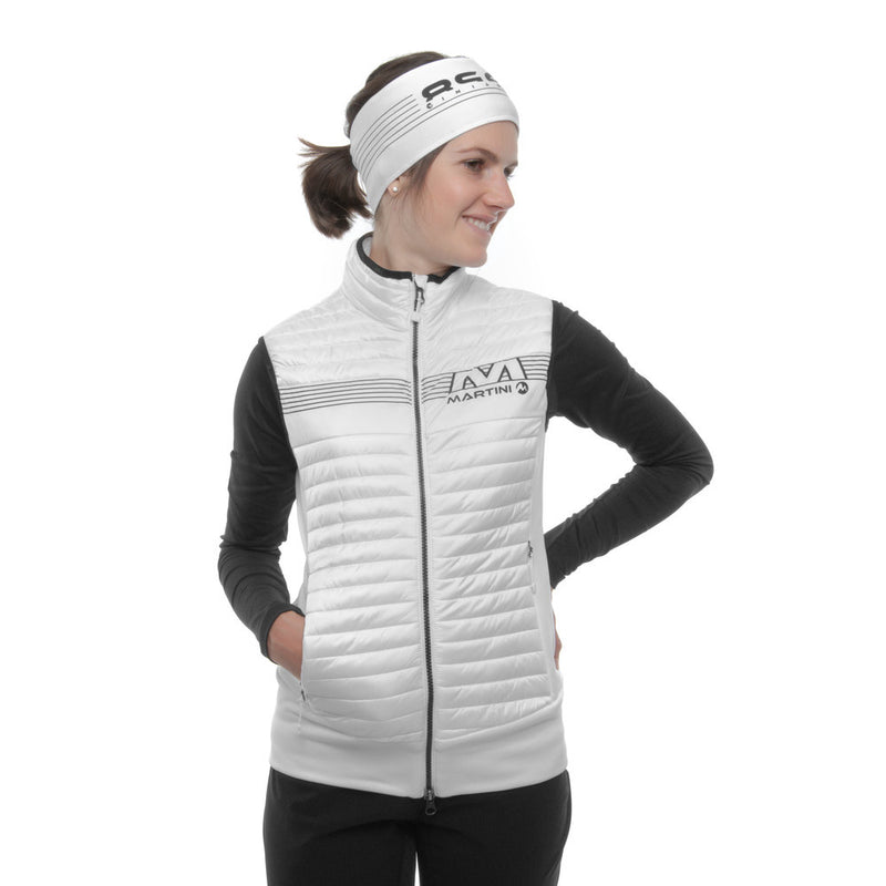 Elemental Vest - Martini Sportswear - White - dressed front view