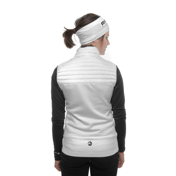 Elemental Vest - Martini Sportswear - White - dressed back view