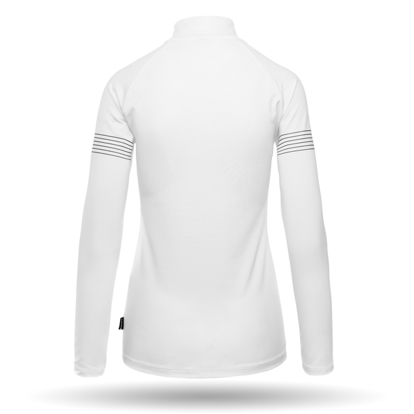 Ultima Women's Mid Layer | Martini Sportswear - White - back view