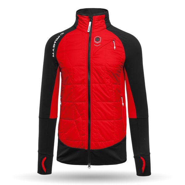 Preference Men's Outdoor Jacket - Martini Sportswear - Spicy Red/Black - front view