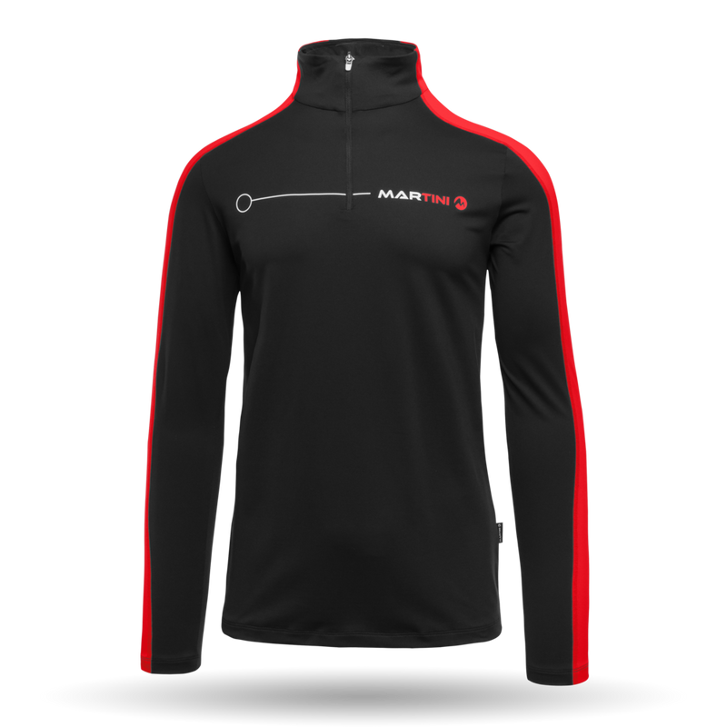 Optimate Mid Layer - Martini Sportswear - Black - front view