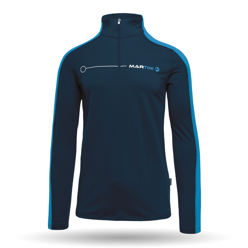 Optimate Mid Layer - Martini Sportswear - Iris/Imperial - front view