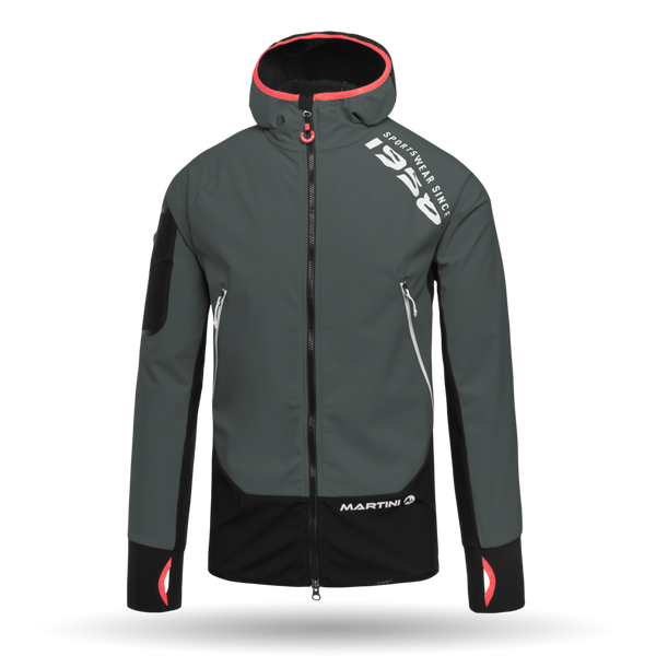Quantum Ski Touring Jacket - Martini Sportswear - Steel/Black