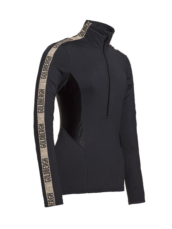 Arisa - Ski Pullover - Goldbergh - Gold/Black - front view