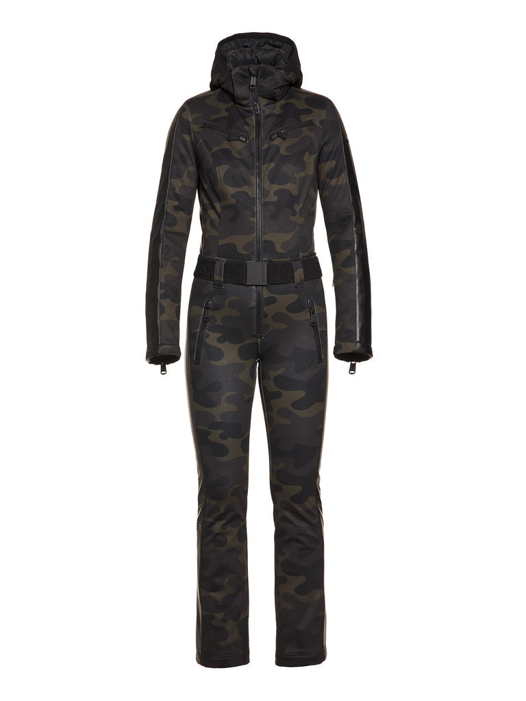 Bush Jumpsuit - camouflage print - Goldbergh - front view