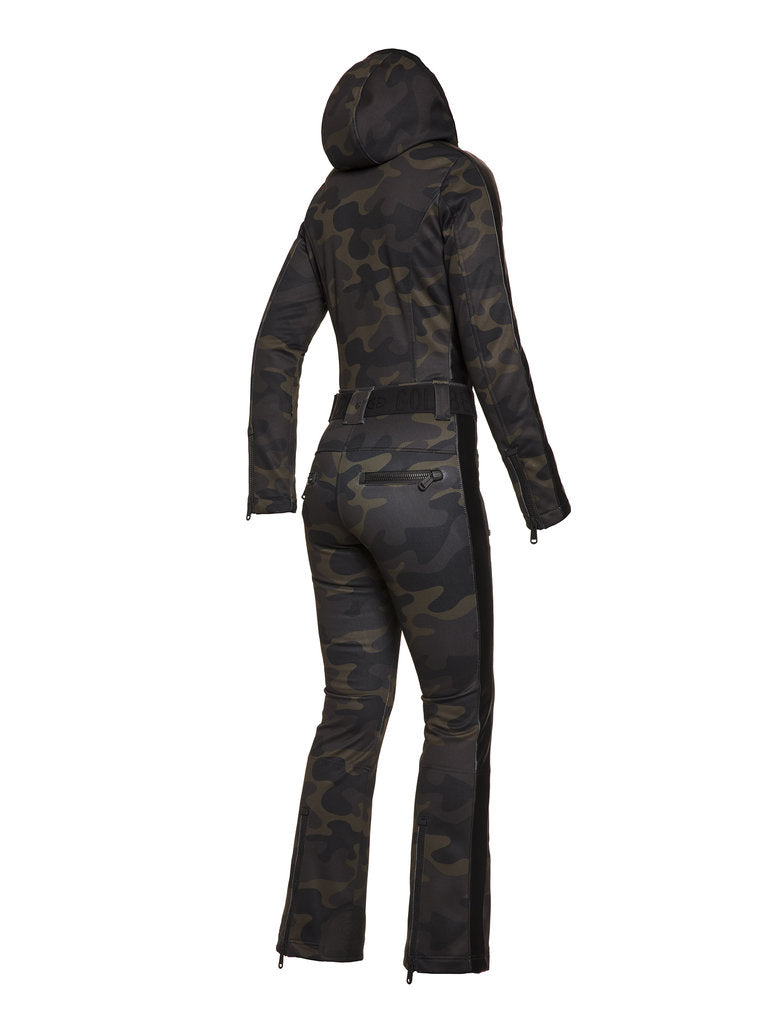 Bush Jumpsuit - camouflage print - Goldbergh - back view