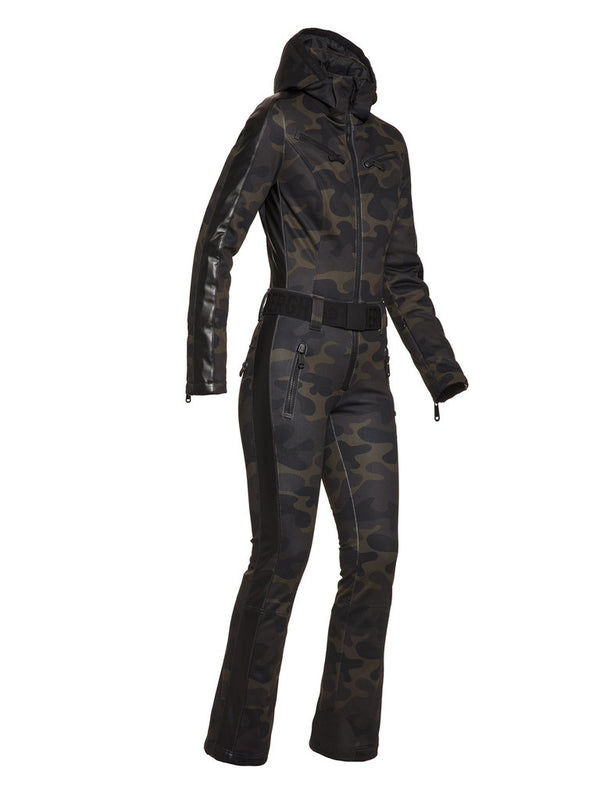 Bush Jumpsuit - camouflage print - Goldbergh - side view