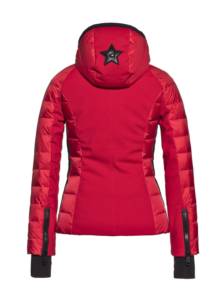 Fosfor  Ski jacket - Goldbergh - Ruby Red - back view