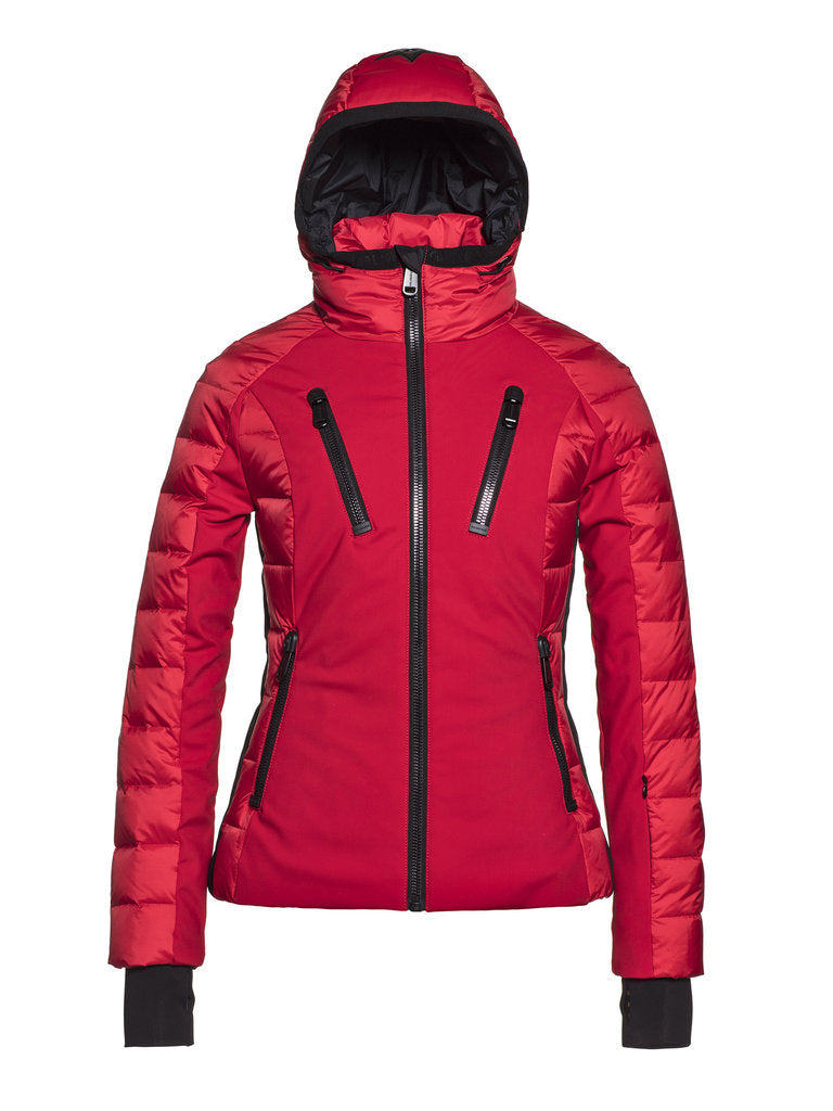 Fosfor  Ski jacket - Goldbergh - Ruby Red - front view