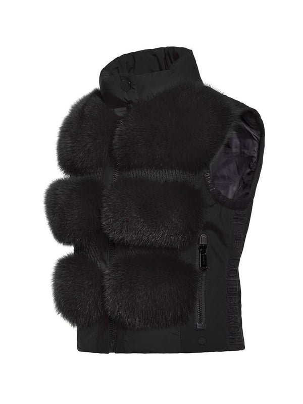 Foxy body warmer - Goldbergh - Black - side view
