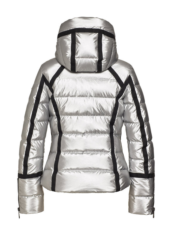 Mirror Women High gloss down jacket - Goldbergh - back view