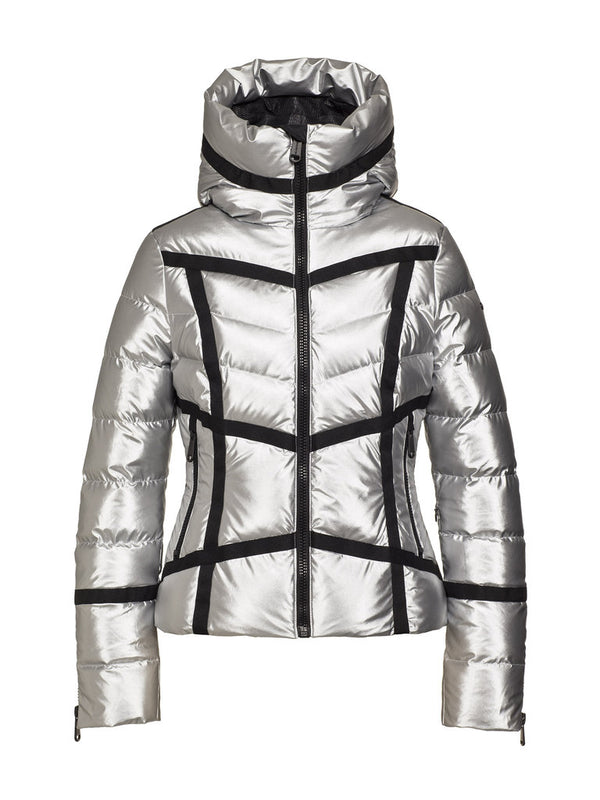 Mirror Women High gloss down jacket - Goldbergh - front view