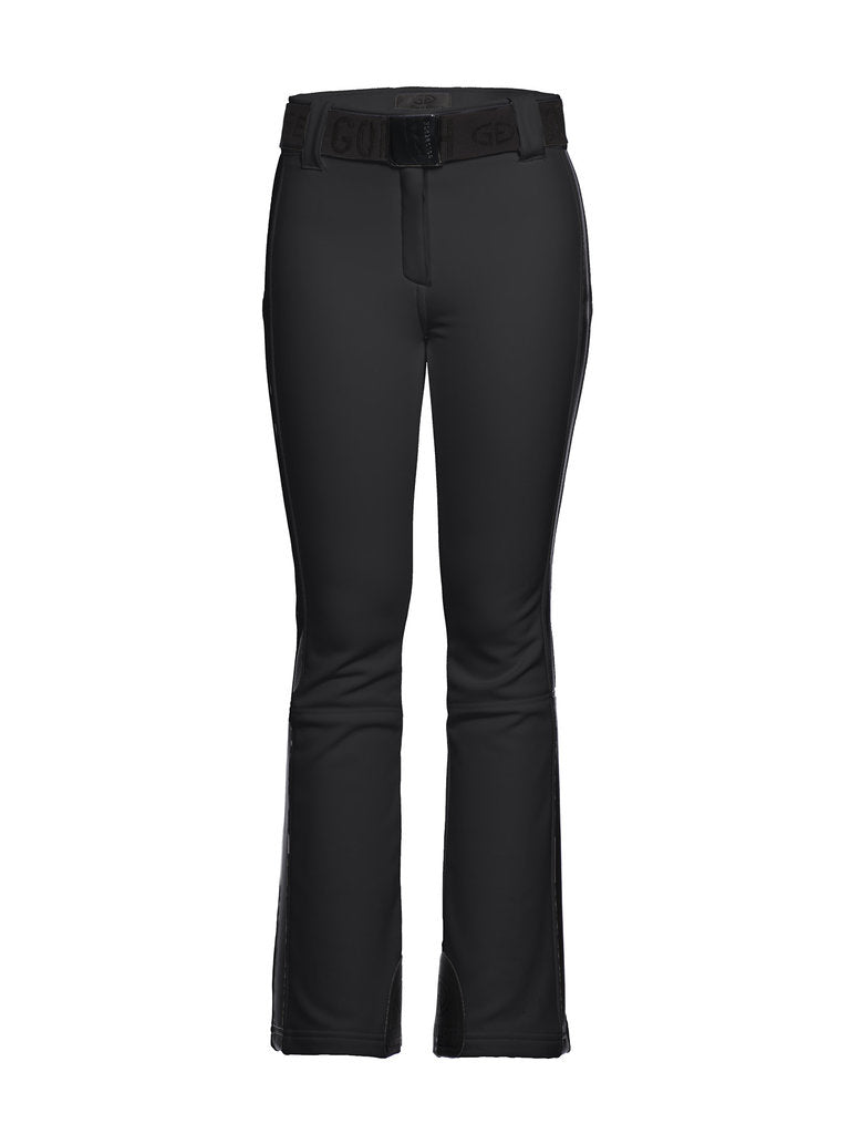 Pippa Ski Pants - Goldbergh - Black - front view