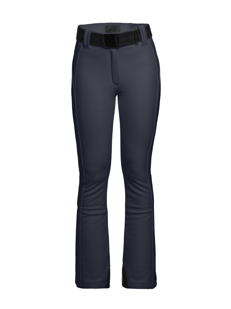 Pippa Ski Pants - Goldbergh - Dark Navy - dressed front view