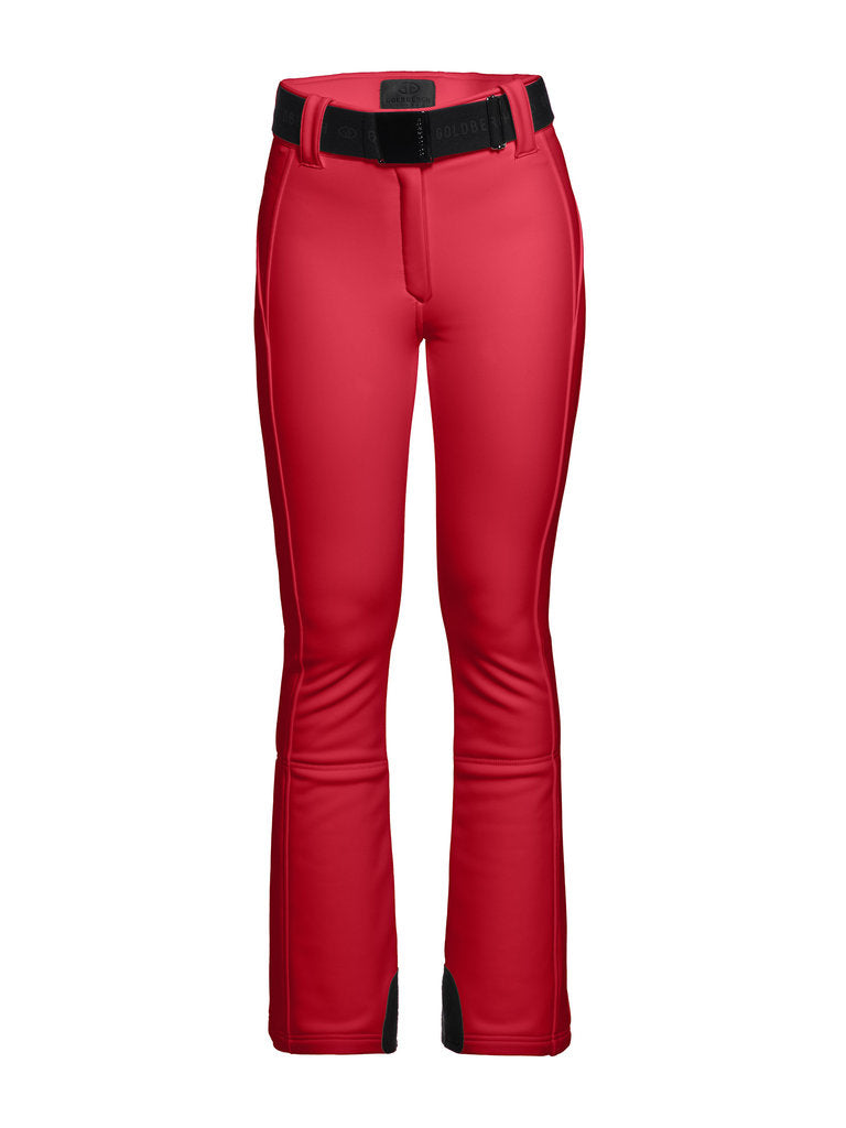 Pippa Ski Pants - Goldbergh - Ruby Red - front view