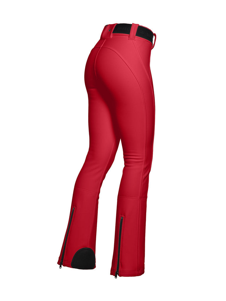 Pippa Ski Pants - Goldbergh - Ruby Red - side view