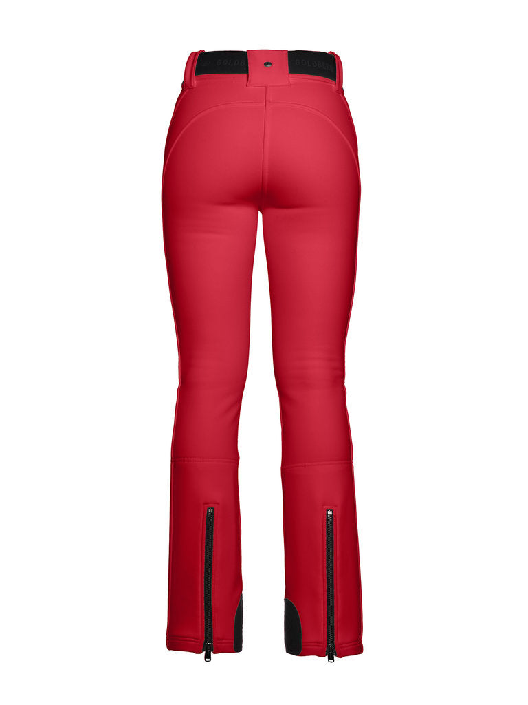 Pippa Ski Pants - Goldbergh - Ruby Red - back view