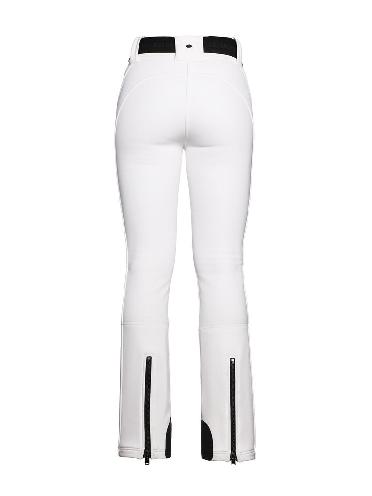 Pippa Ski Pants - Goldbergh - White - back view