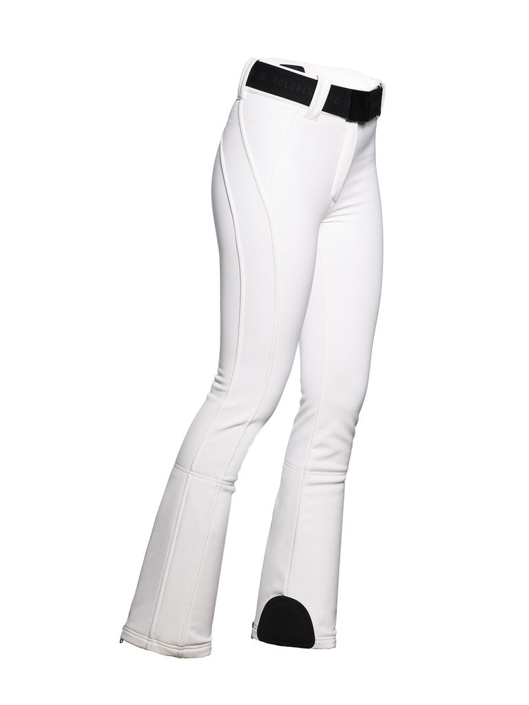 Pippa Ski Pants - Goldbergh - White - side view
