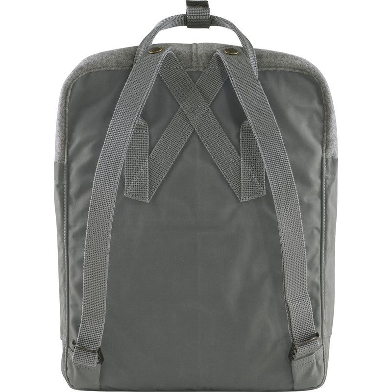 Kånken Re-Wool Backpack - Fjäll Räven - Granite Grey