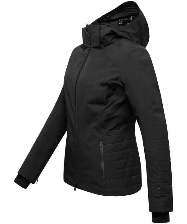 Aria Ski Jacket - Mountain Force - Black - Side View