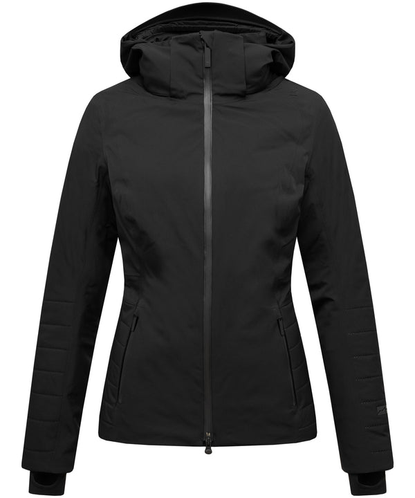 Aria Ski Jacket - Mountain Force - Black - Front View