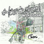 #tourdesketch Windsor - Colouring Book - Mirror World Publishing