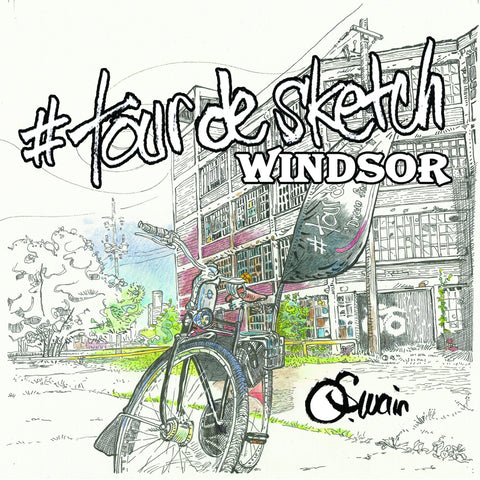 #tourdesketch Windsor - Colouring Book