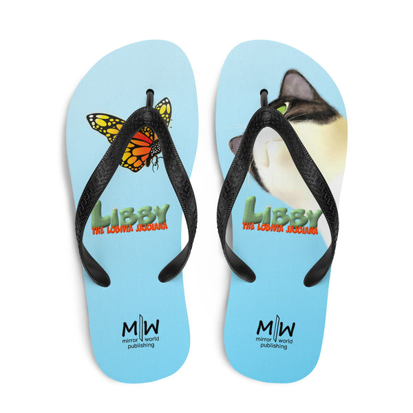 Prea and Butterfly Flip-Flops