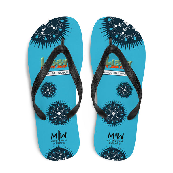 Libby box-themed Flip-Flops