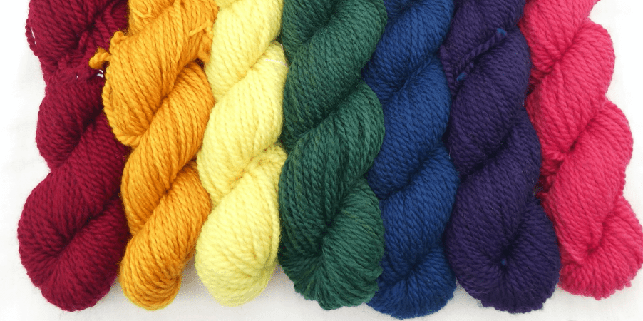 yarns, colour, lancaster, natural dyes