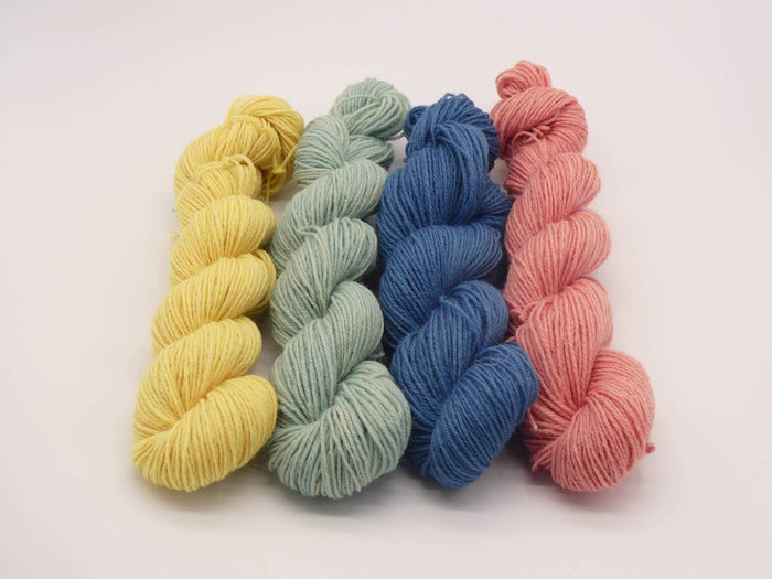 yarn, wool, hand dyed yarns