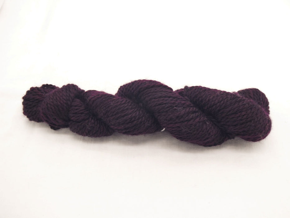 Aran Superwash BFL Yarn, hand dyed, Purples