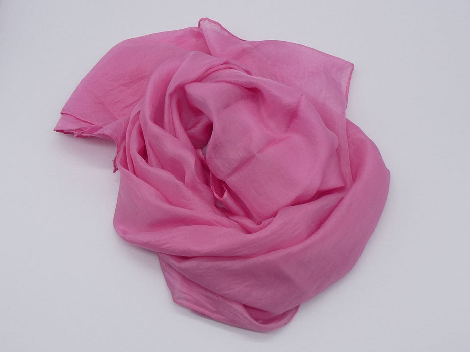 Pink Silk Scarf, Large