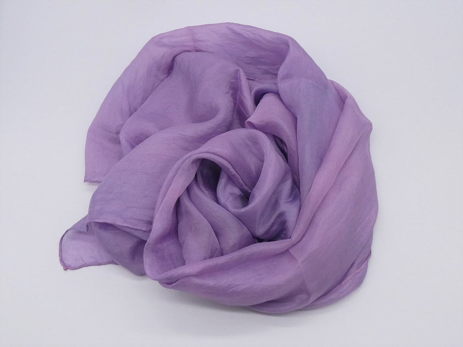 Lilac Silk Scarf, Large