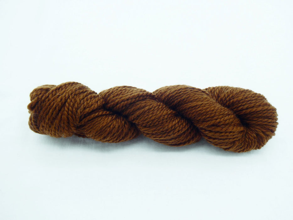 Aran Superwash BFL Yarn, Natural, brown