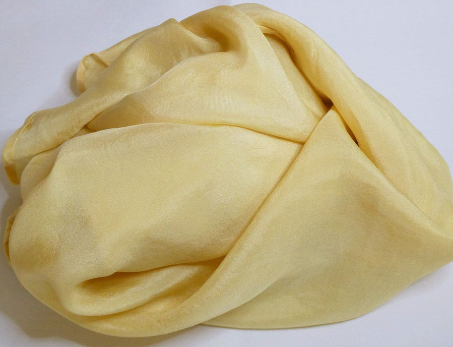 Habotai Silk scarf, dyed with natural dyes