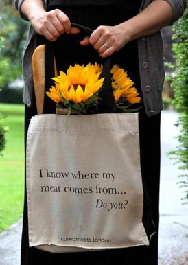 I Know Where My Meat Comes From (Carry Bag)