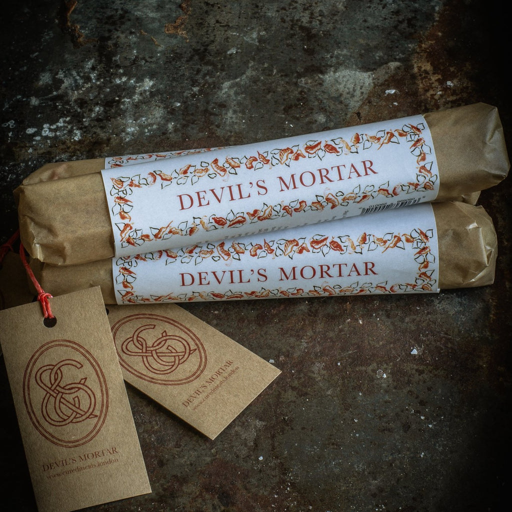 A Trio of Devil's Mortar; Spicy, Spreadable and Individually-Sized