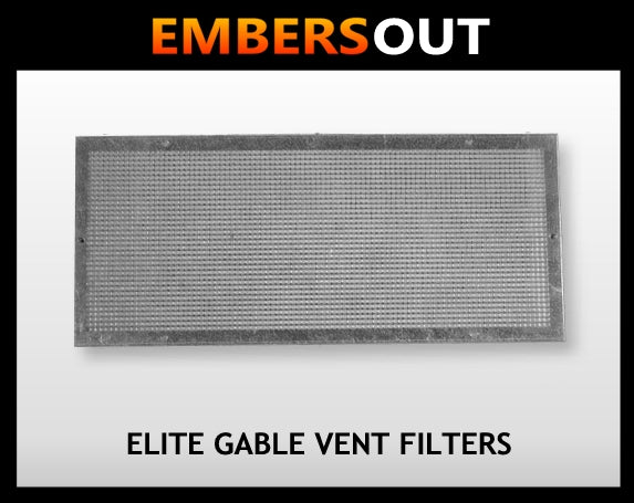Embers Out Elite Gable Vent Filters