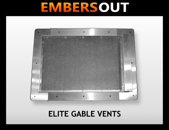 Embers Out Elite Gable Vents