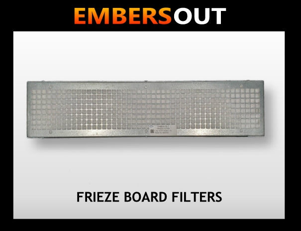 Embers Out Frieze Board Filters