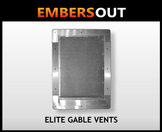 Embers Out - Elite Gable Vents