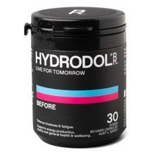 Load image into Gallery viewer, Hydrodol BEFORE 30 Dose 60 Capsules