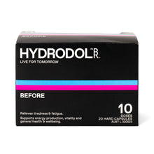 Load image into Gallery viewer, Hydrodol BEFORE 10 Dose 20 Capsules
