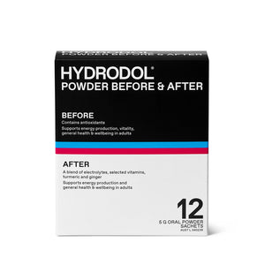 Hydrodol Combo - Before & After Powder 12 Sachets