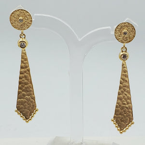 Handmade Hammered Earring