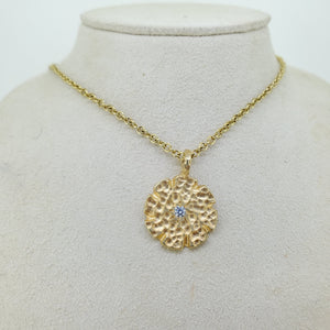 Handmade Hammered Necklace