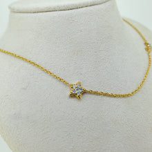 Load image into Gallery viewer, Star and Moon Necklace
